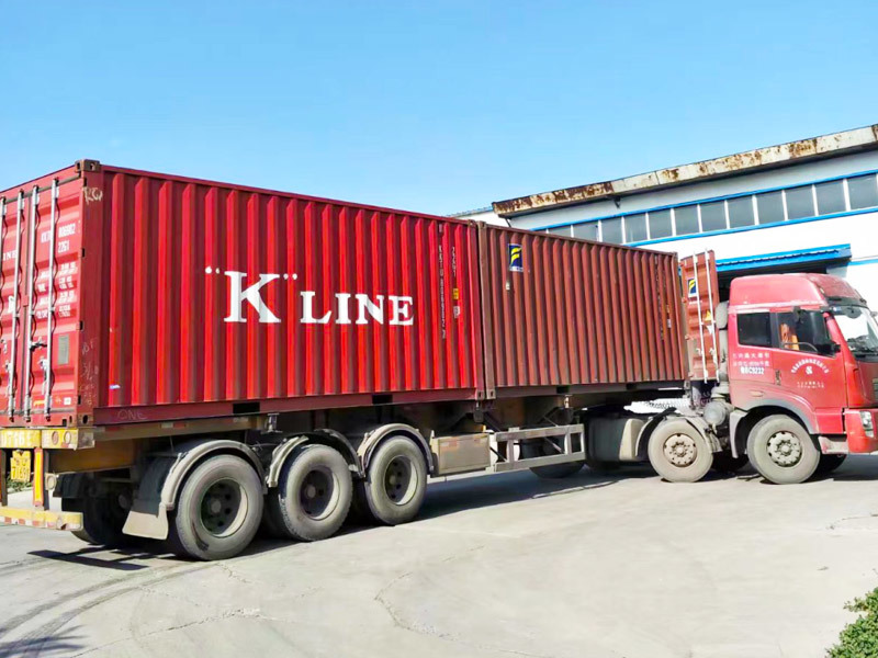 The container of the shipment